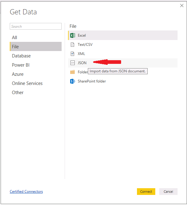 Power BI and JSON 02