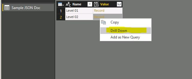 Power BI and JSON 05